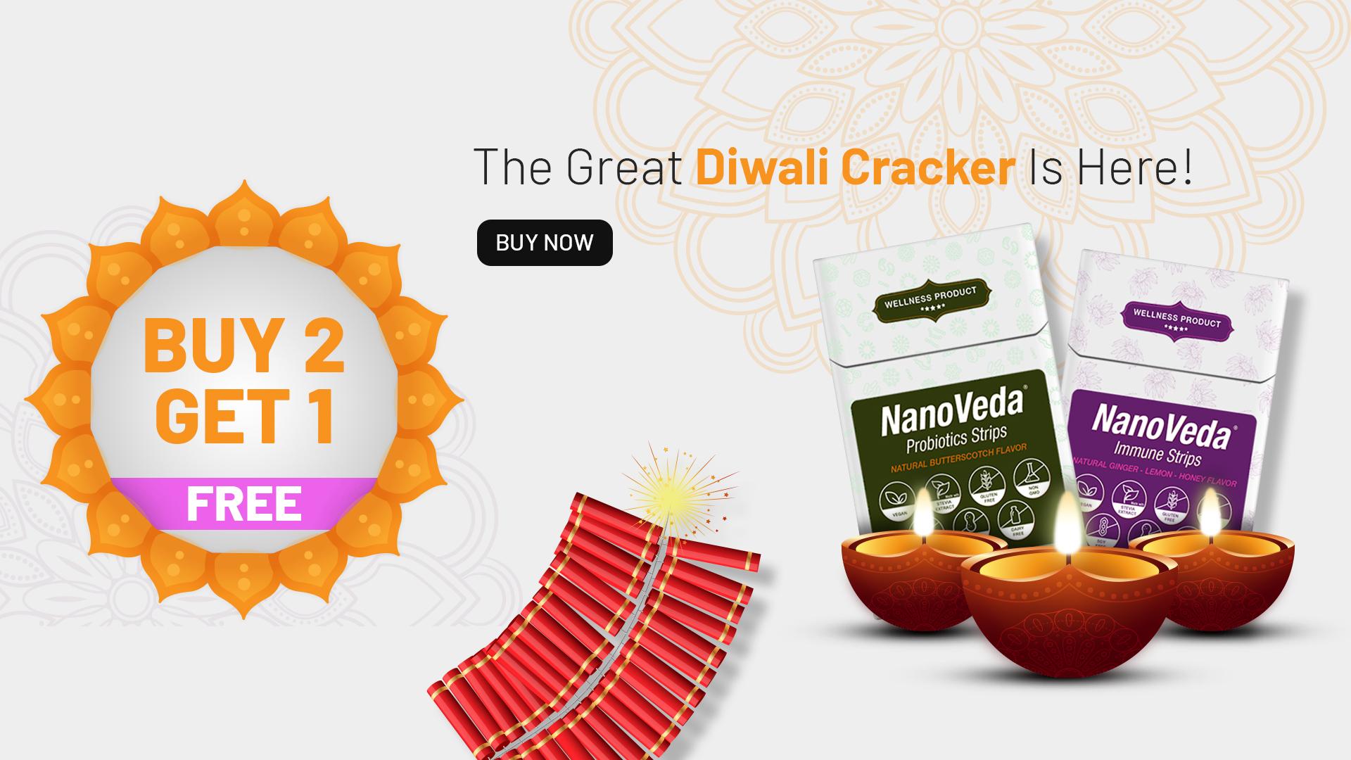 NanoVeda Diwali Cracker